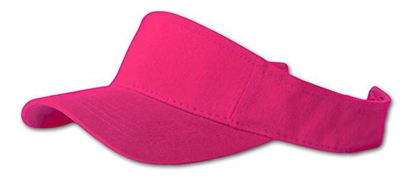 Hot Pink Visor Adjustable Sportswear  5816