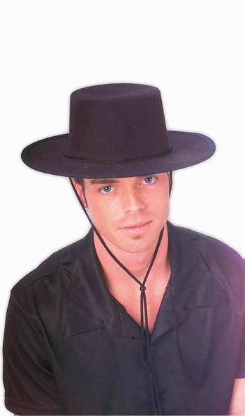 Zorro Costume Spanish Hat  12 PACK 5895