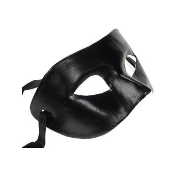 Phantom Mask Black Paper Mache 1851