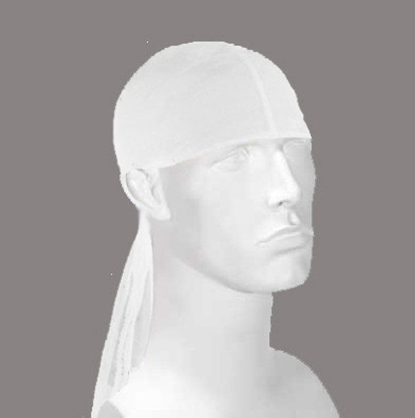 White Du-Rag 12 PACK 6640