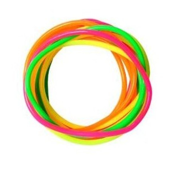 Jelly Bracelets Assorted Colors 12 PACK 6530