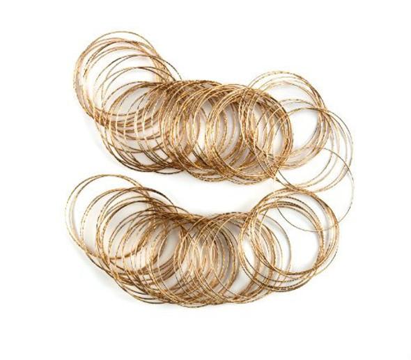 Gold Bangles 50 PK 6567