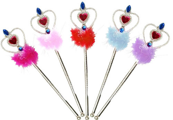 12 Pack Fairy Wands Mix Colors 1645
