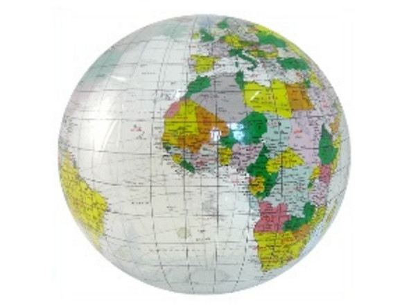 12 Inch Inflatable Globe 1755