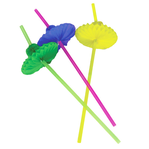Fiesta Party Supplies Sombrero Straws 12 PACK 1885