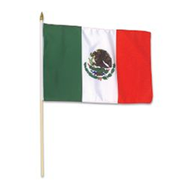 Mexican Flag 12in 1893