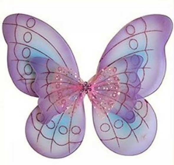 Purple and Blue Child Butterfly Wings 4636