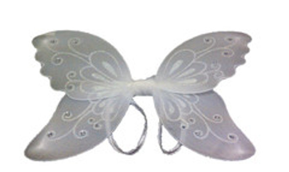 White Child Butterfly Wings 4635