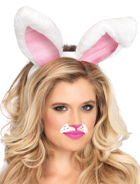 Bunny Ears Easter White/Pink 1671