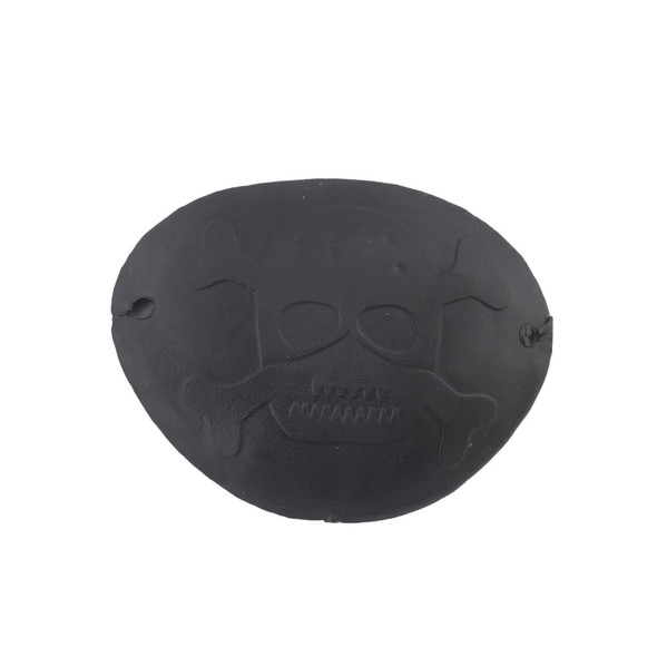 Rubber Pirate Eye Patch with String 1617