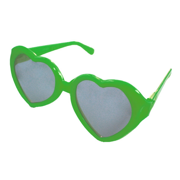 Green Child Lolita Heart Shape Sunglasses 1021