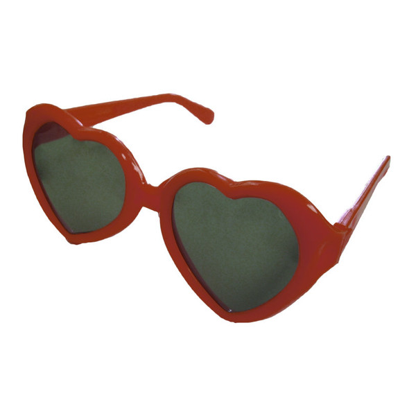 Red Child Lolita Heart Shape Sunglasses 1024