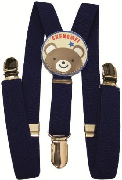 """Navy Blue Child Suspenders 30"""" Standard Size 1296"""