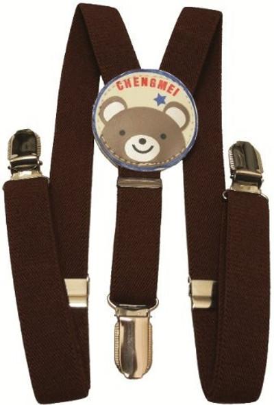 """Brown Child Suspenders 30"""" Standard Size 1299"""