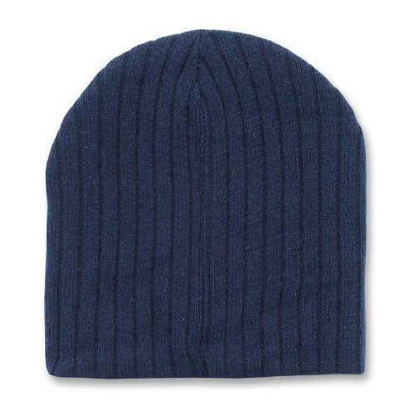Navy Short Cable Beanie 5712