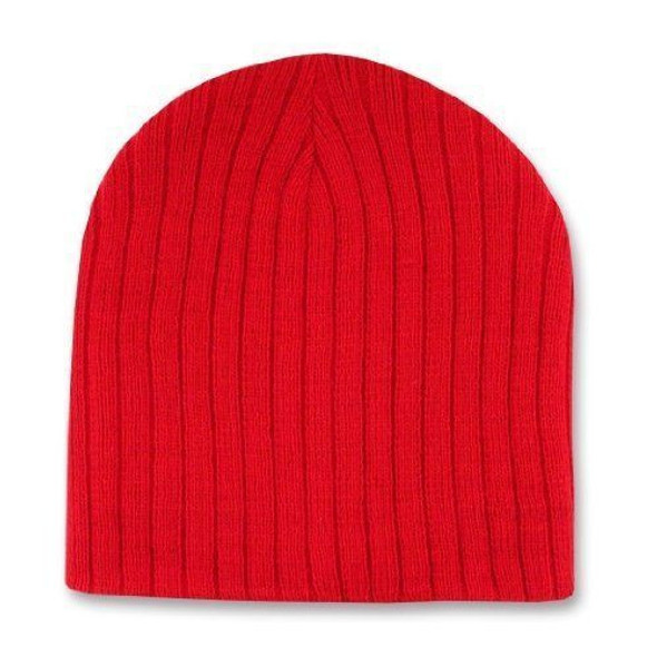 Short Cable Beanie Red 5714