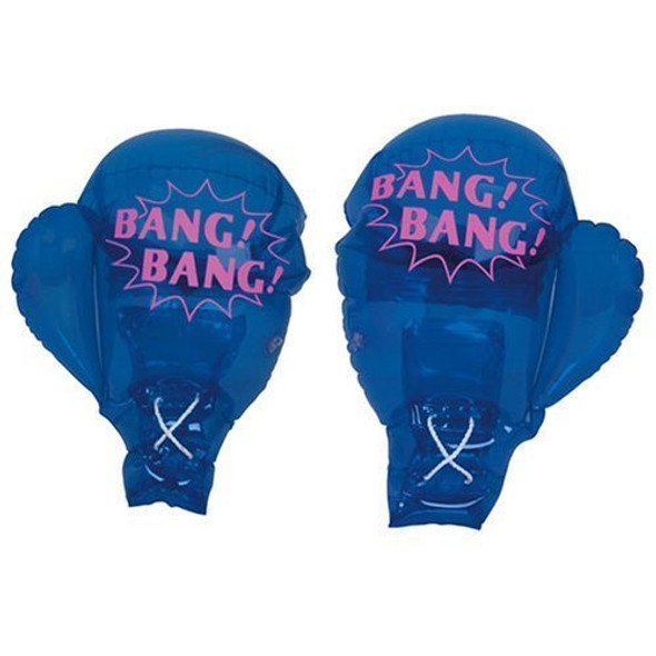 Inflatable Boxing Gloves Blue 1761