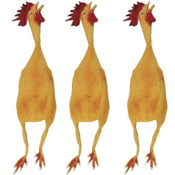 Wholesale Rubber Chickens Bulk | JUMBO 12 PACK 1784