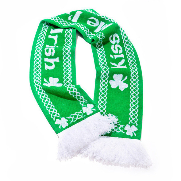 Kiss Me I'm Irish Scarf 1905