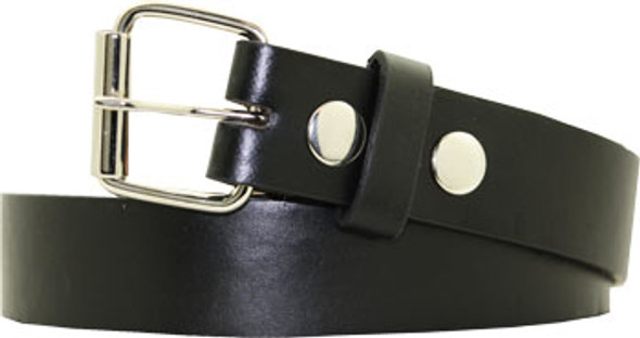 Black Child Belt For Buckles | 12 PACK  w/ FREE BUCKLES 2905-2907 MIX SIZE