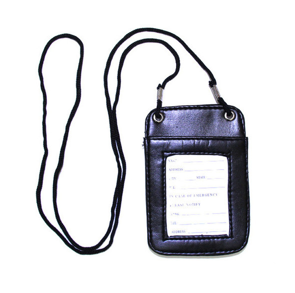 12 PACK Standard ID Holder w/ String 3034
