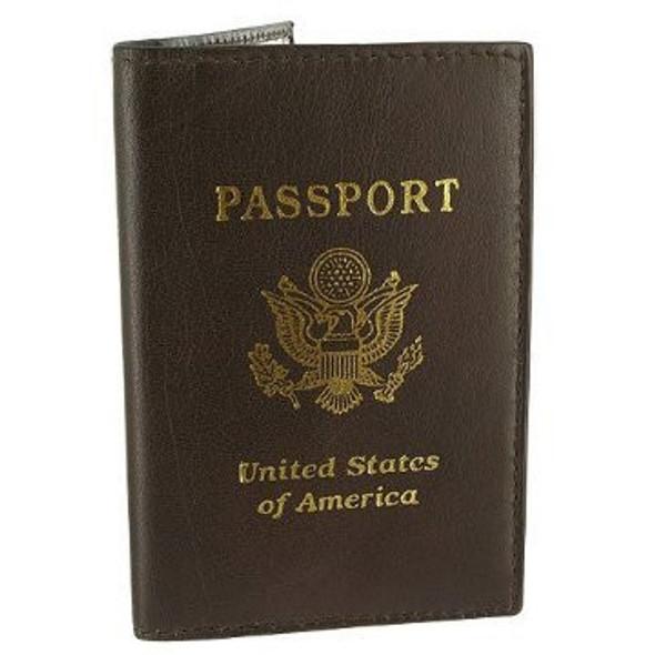 Brown Passport Cover 3042