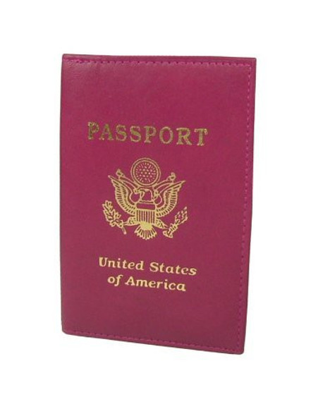 Passport Cover Burgundy 3043