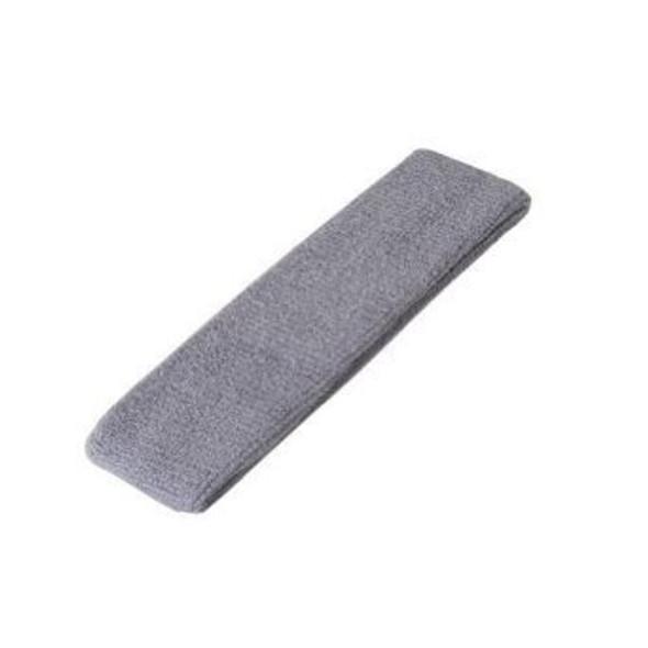 Grey Terry Cloth Sweatband/Headband 3091