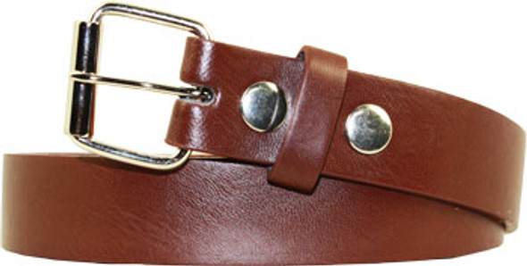 Brown Child Belts Bulk | 12PK For Buckle Mix Sizes w/ FREE BUCKLES 2910A