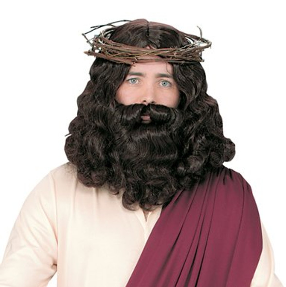 Jesus Wig And Beard Set 6056