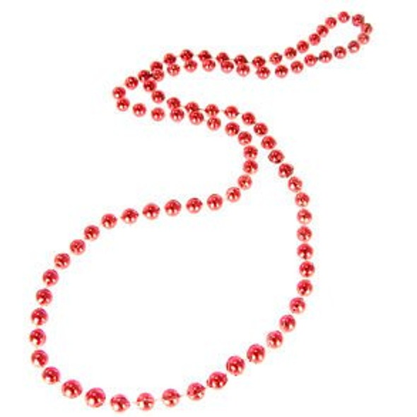 Valentines Day Beads | Red 7mm 12 PACK 6541