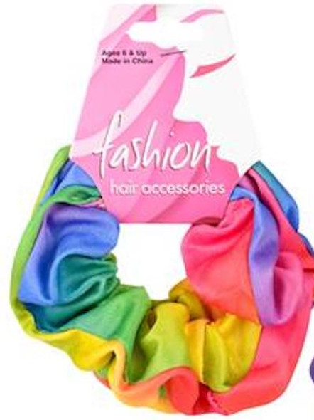 Rainbow Scrunchies 24 PACK