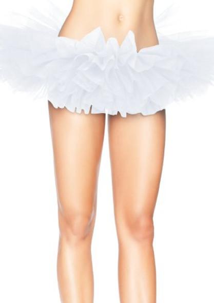 White Costume Tutu Tulle 8233