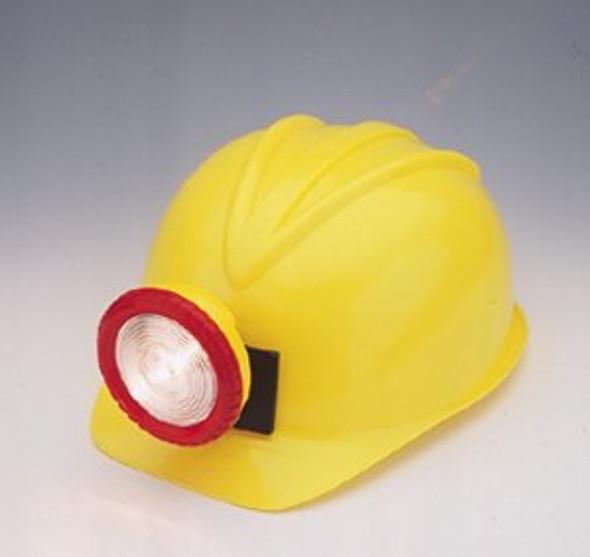 Plastic Construction Helmet With Light 1502
