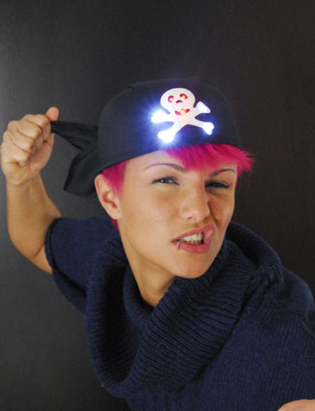 LED Pirate Bandanna 5921