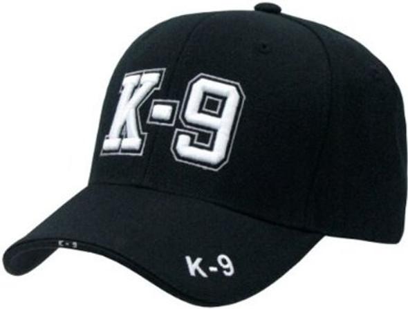Police Cap K-9 Black 1526