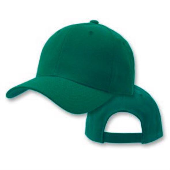 Forest Green Adjustable Baseball Dad Cap 1395