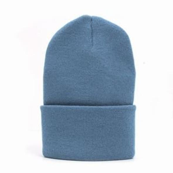 Light Blue Long Beanie Hat 5761