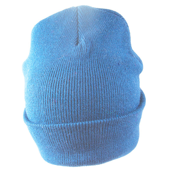 Light Blue Long Beanie Hat 5761