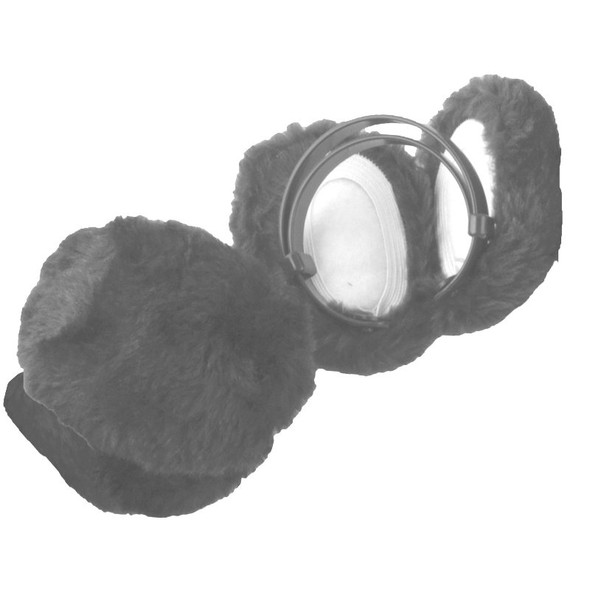 Furry Ear Warmers Gray 6710