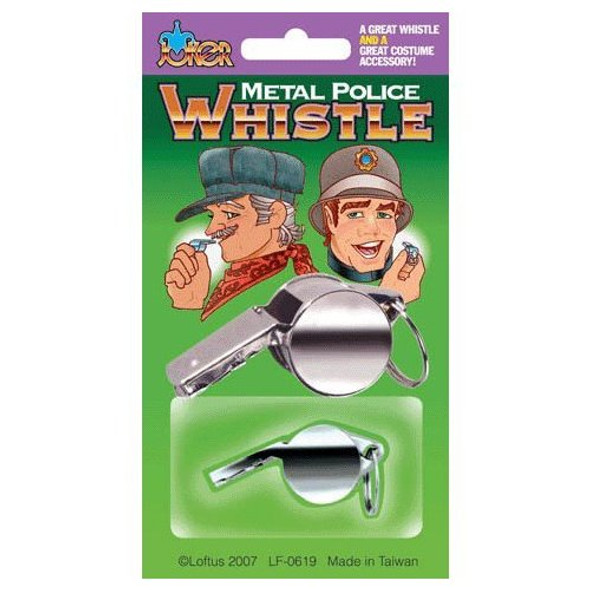 Police Whistle 12 PACK 9061