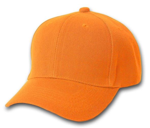 Orange Adjustable Baseball Cap 1394