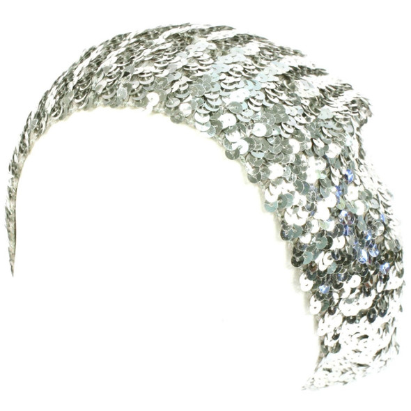 Silver Sequined Sparkle Berets 1378