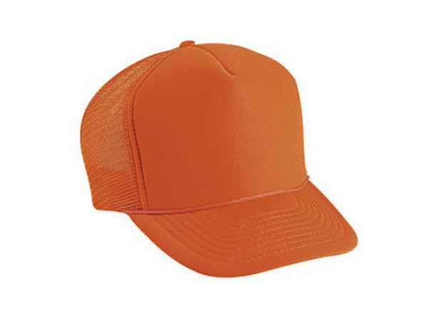 Orange Trucker Hats 12 PACK 1582