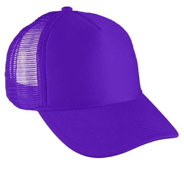 Purple Trucker Caps 12 PACK 1585