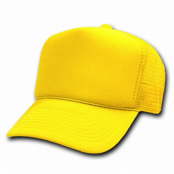 Neon Yellow Trucker Cap 12 PACK 1587