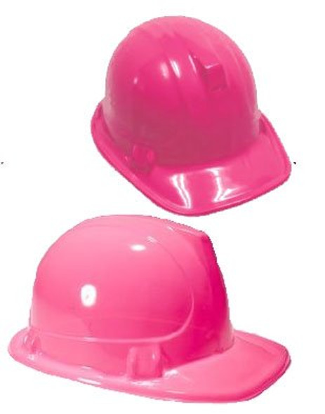 Adult Pink Construction Hat 5845