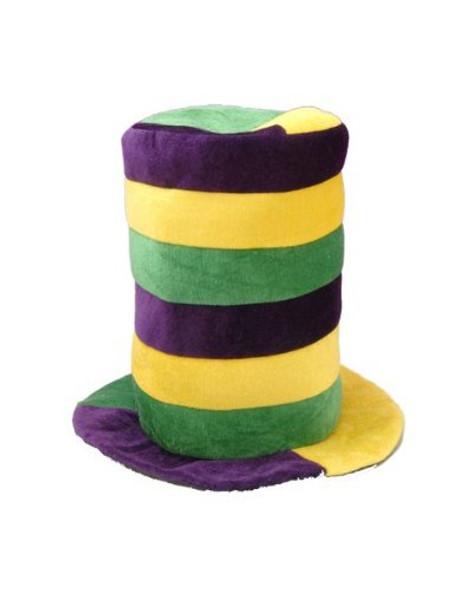 Mardi Gras Stovepipe Hat 5948