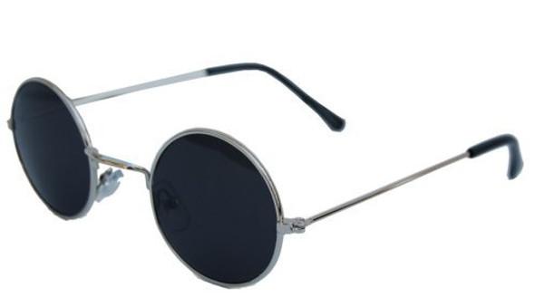 John Lennon Glasses Silver/Black 1097