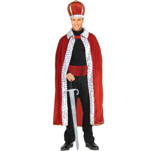 King Robe & Crown Costume Adult 4390